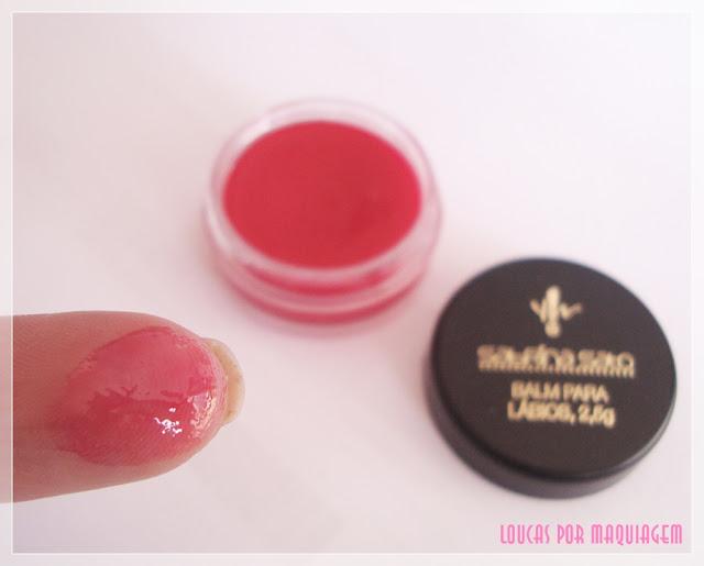 Balm para lábios Yes Cosmetics  -  Linha Sabrina Sato