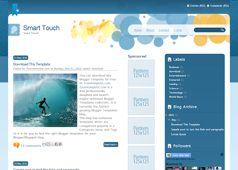 Smart Touch Blogger Theme