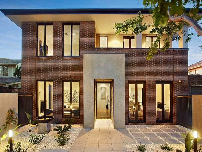 Fachadas de casas de ladrillo fachadas de casas for Casas modernas ladrillo