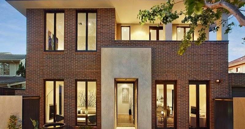Fachadas de casas de ladrillo fachadas de casas diferentes estilos - Casa de ladrillos ...