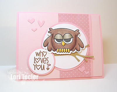 Who Loves You? card-designed by Lori Tecler/Inking Aloud-stamps from Paper Smooches