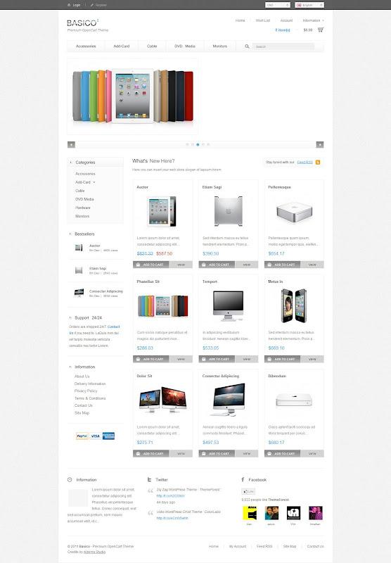 Premium-OpenCart-Themes