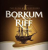 BORKUM RIFF Bourbon Whiskey ( ボルクムリーフ バーボン ウィスキー ) のパッケージ画像