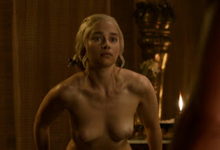 Emilia Clarke Nude Out Of The Bath On Game Thrones Video