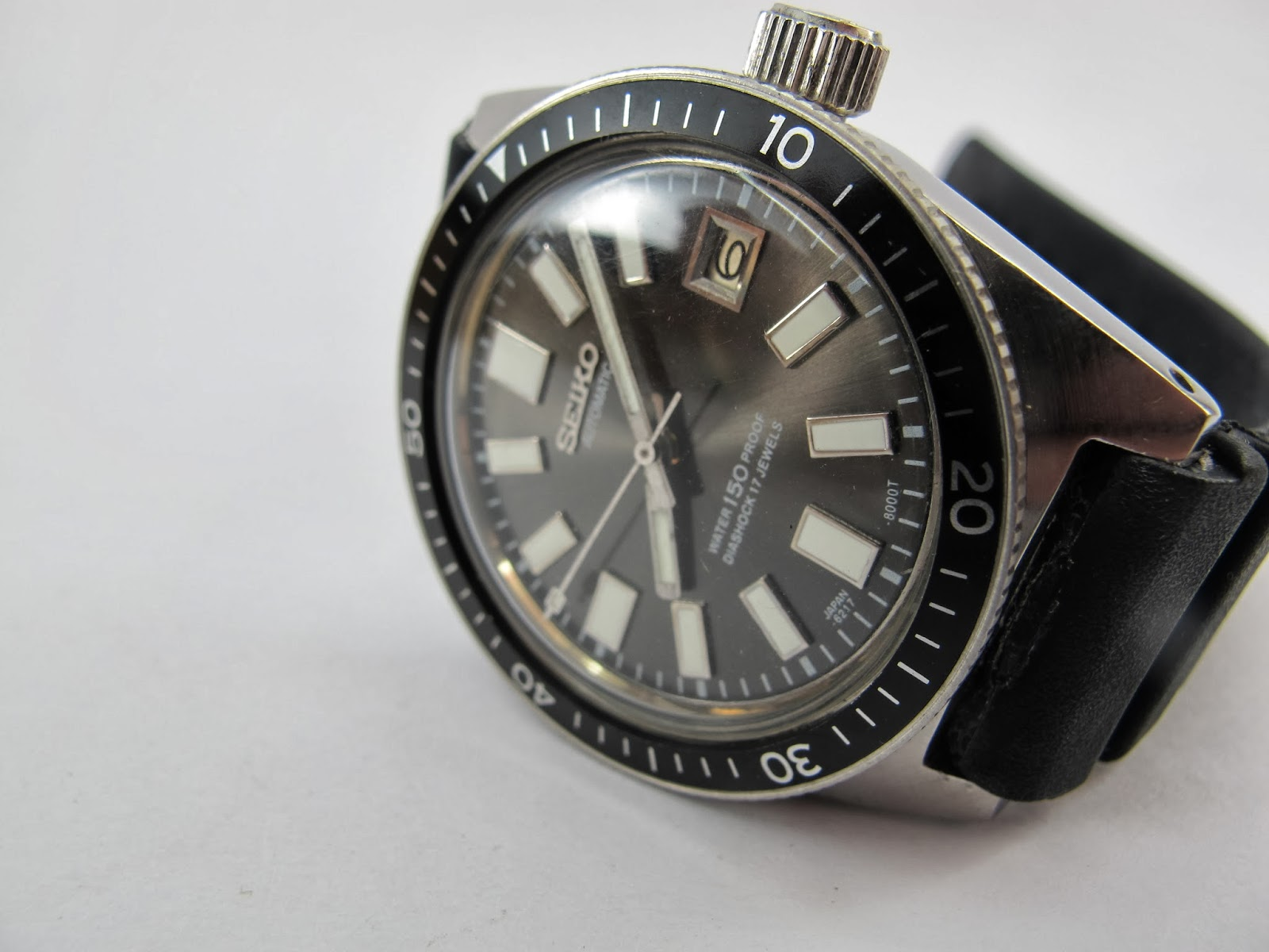 Watchopenia seiko diver 6217 8001 for the first time - Best seiko dive watch ...