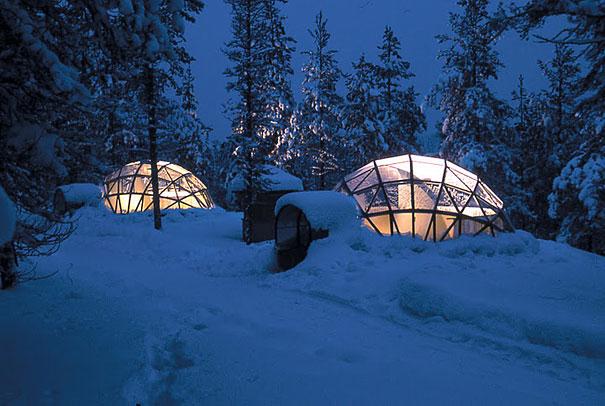 الفندق و المنتجع الزجاجي في فنلندا ، إستمتع بنظرة فريدة للشفق القطبي 3.jpg