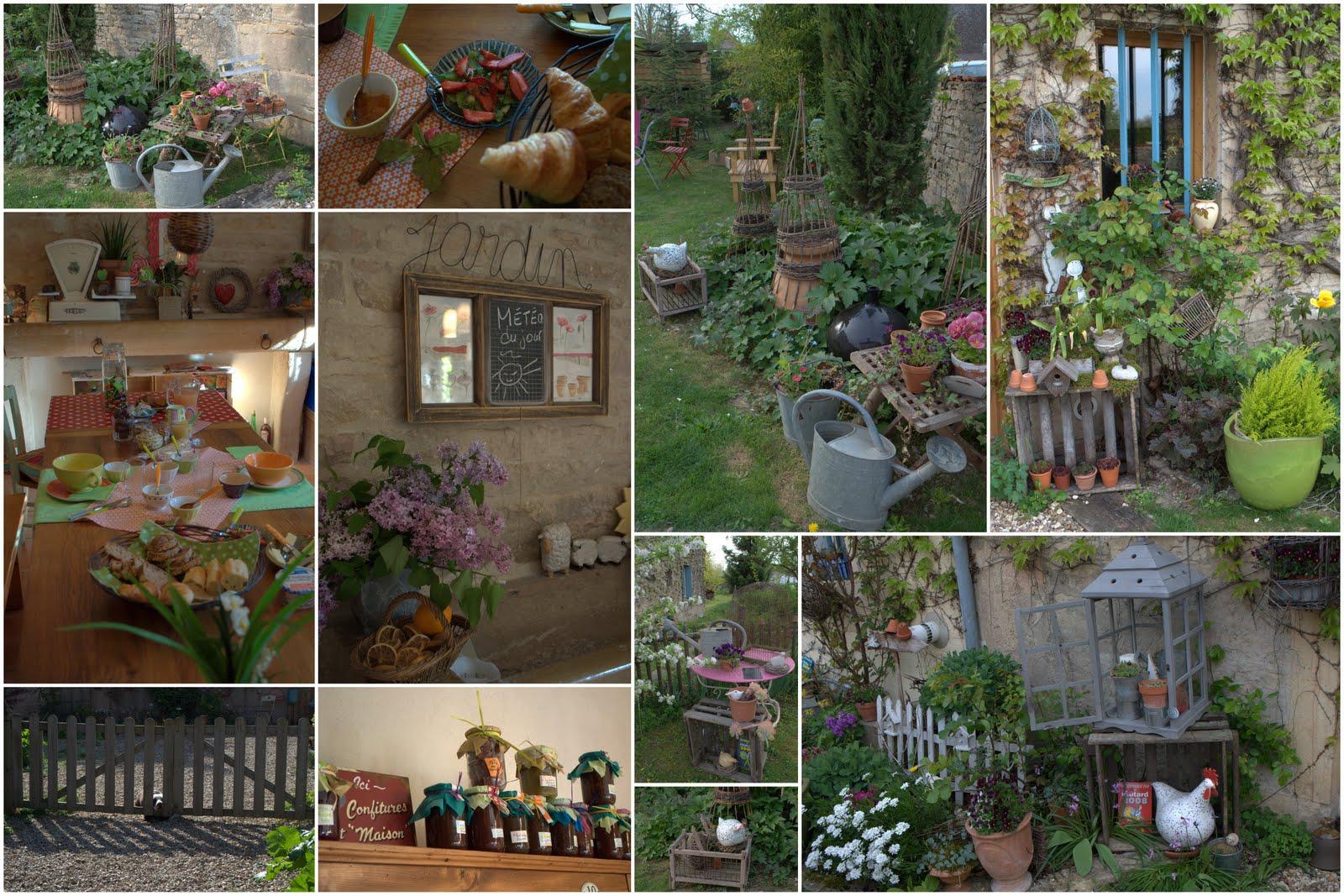 ambiance-jardin: chez blandine, une halte de charme près de beaune