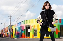 LONGCHAMP X Alexa Chung FW2015 Ad Campaign