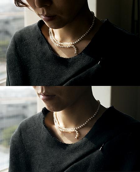 SU jewelry ジュエリー ネックレス スウ パール