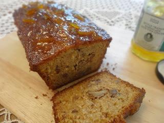 Sticky Ginger Marmalade Loaf