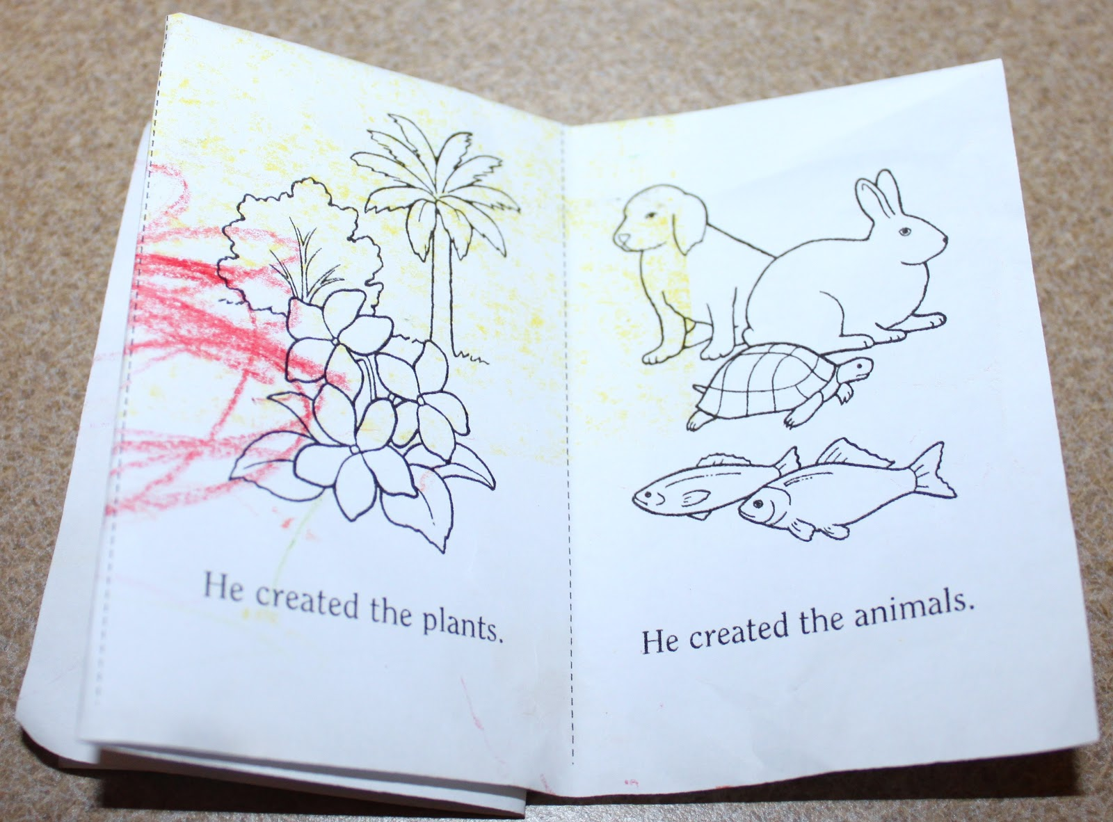 Lds Coloring Pages Pdf : Mecham family: jesus christ created the world for me