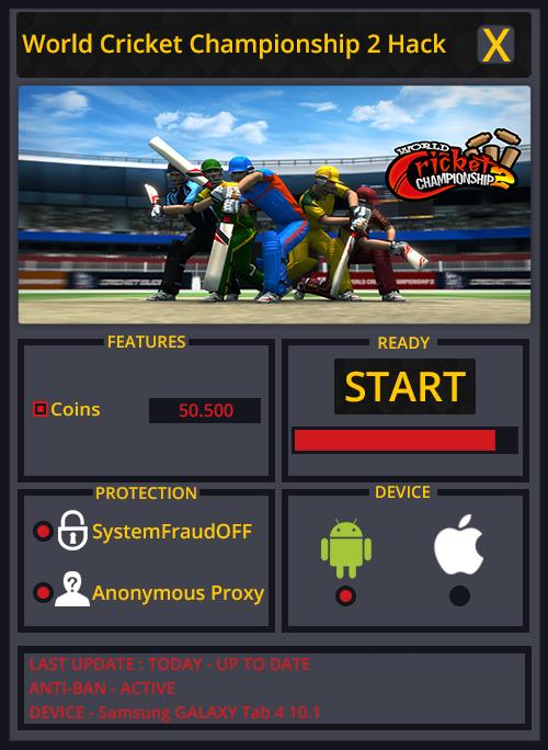 World Cricket Championship 2 Hack