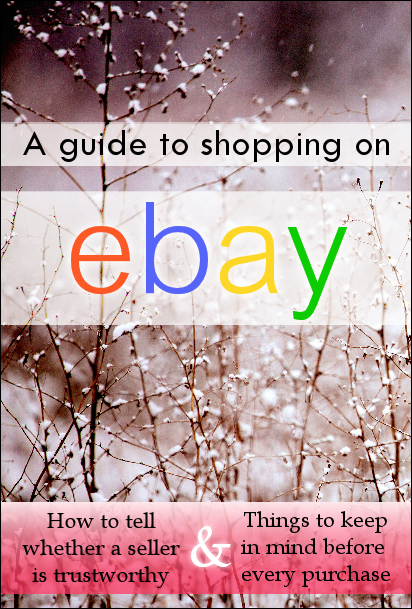 A Guide to Shopping on eBay