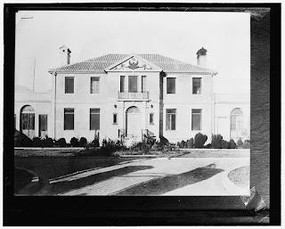 Ambasciata americana (Usa) a Tirana nel 1938