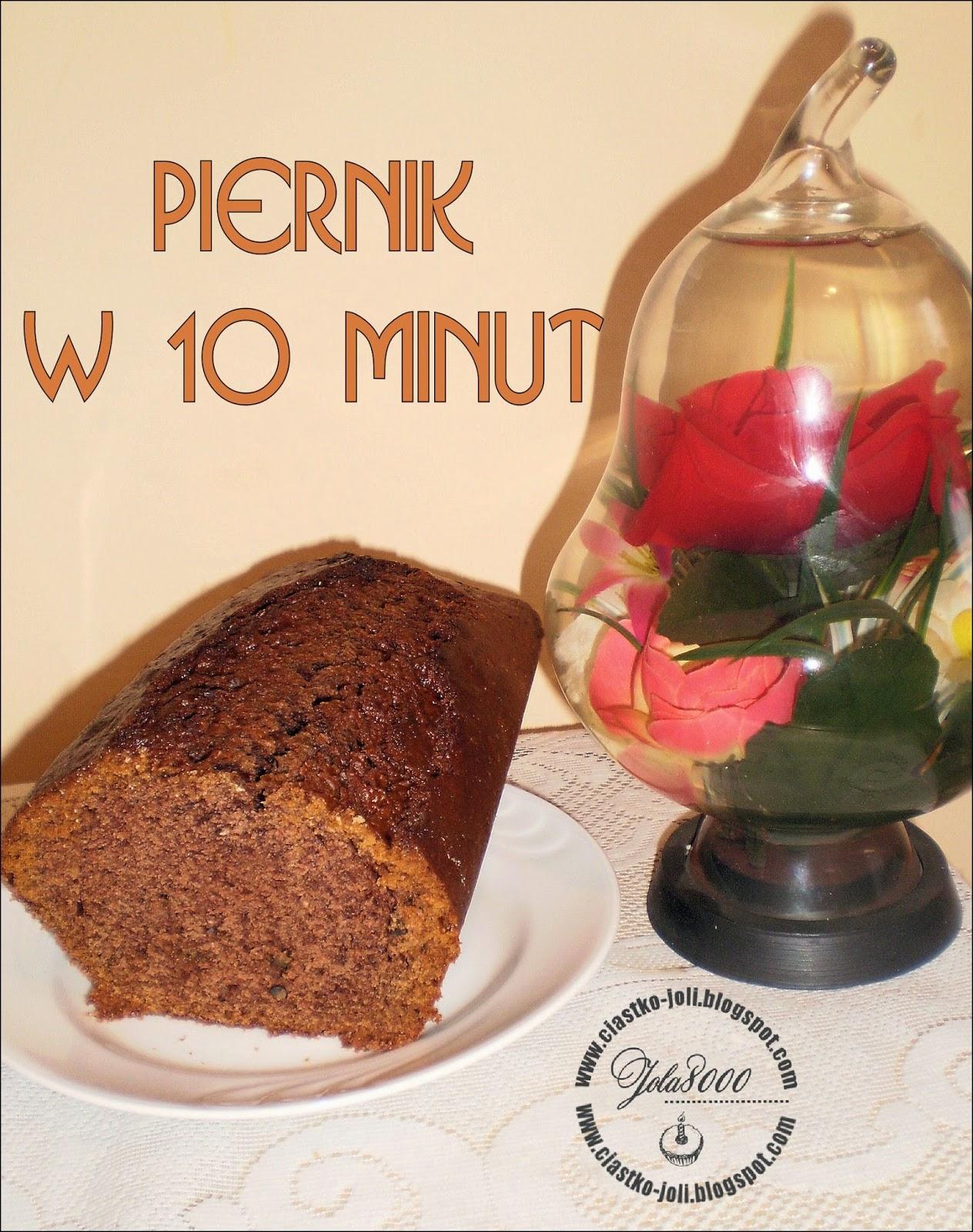 Piernik w 10 minut