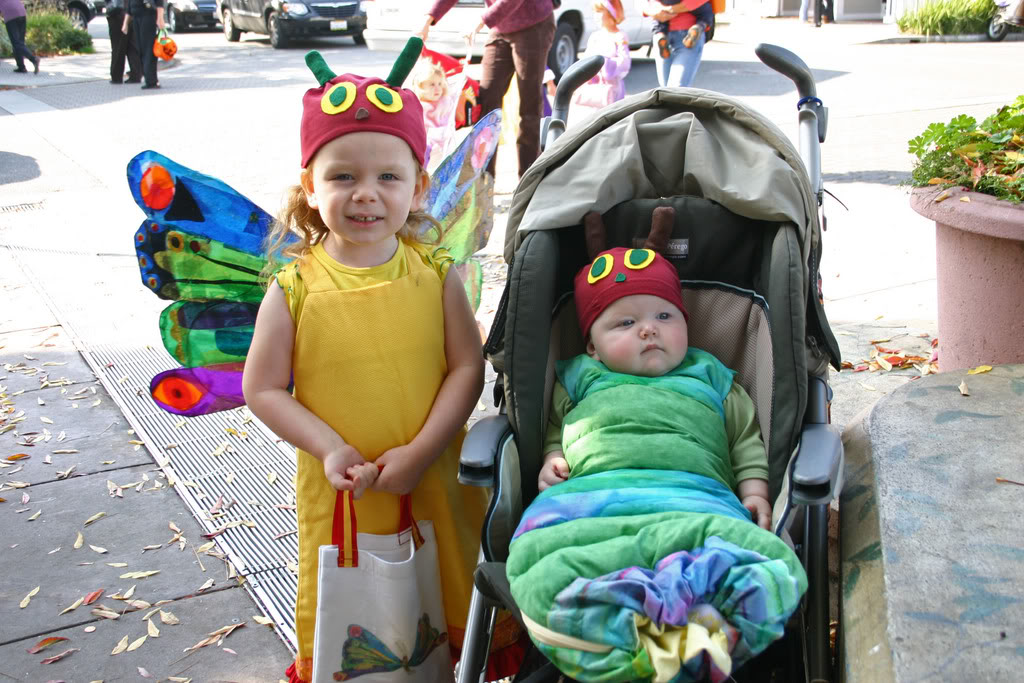 Very Hungry Caterpillar Butterfly Costume Yvonne Byatt's Family ...