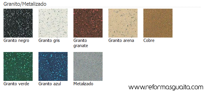 Encimera de granito colores sinatra pulido granito with for Colores granito pulido