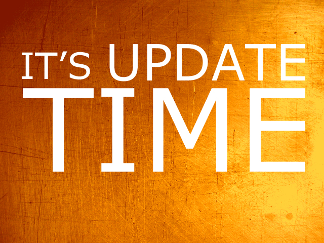 It's update time!