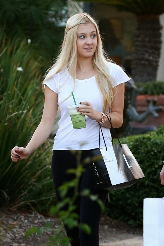 Ava Sambora out and about in Calabasas