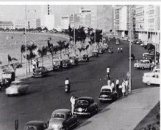 AV. PAULO DIAS DE NOVAIS - ANO 1957.