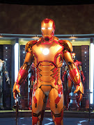 360° view of the Iron Man Mark 42 suit
