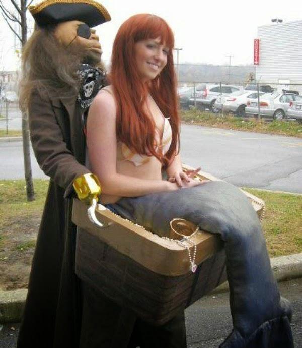 Pirata y sirena