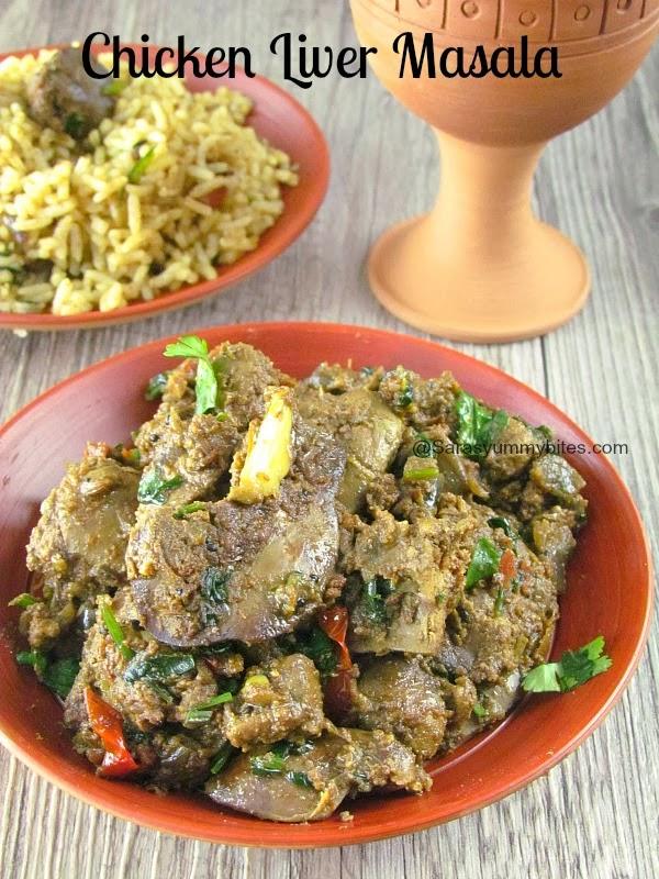 chicken liver masala / kozhi eral masala / kodi kaarjam vepudu