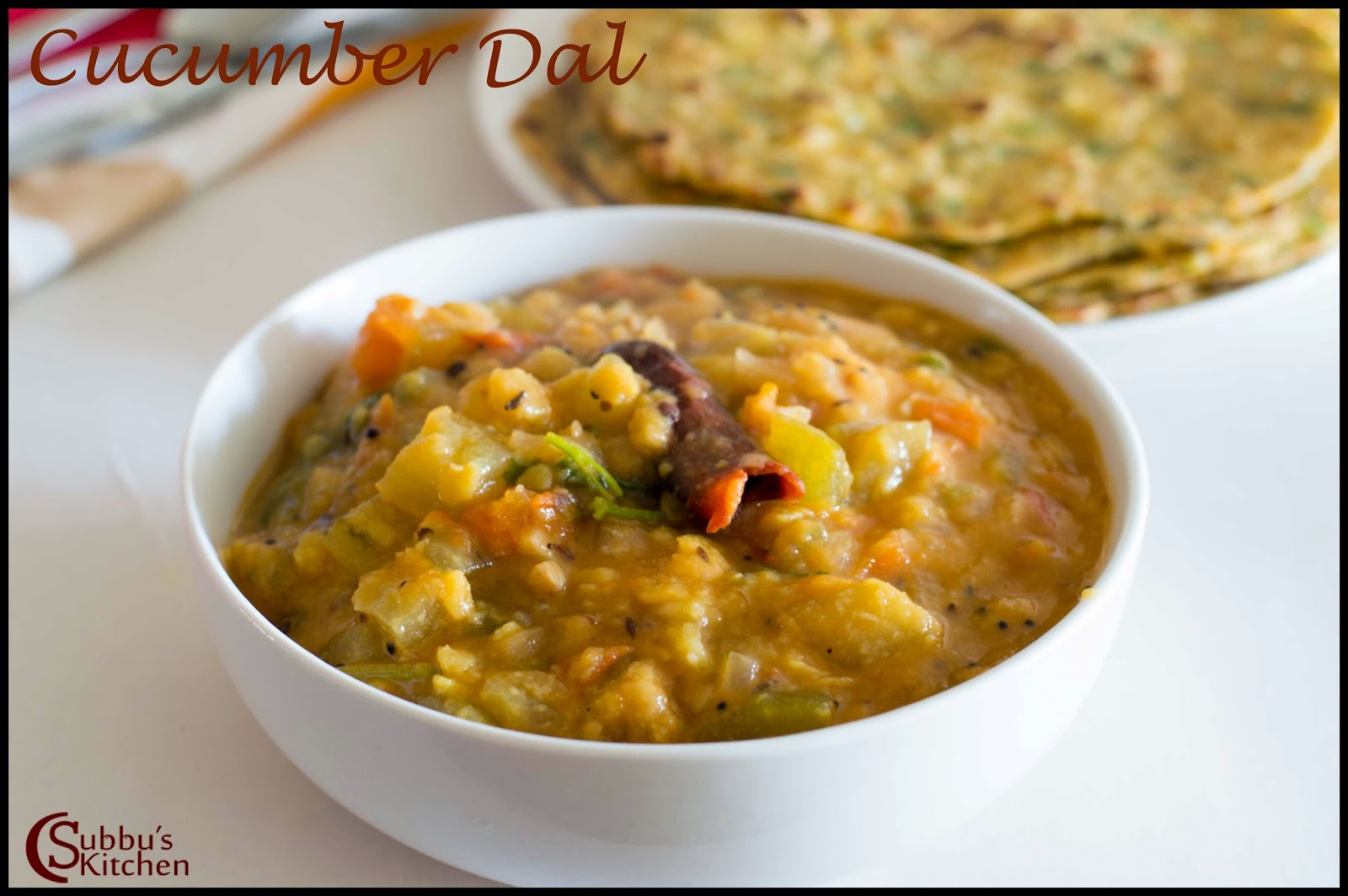 Cucumber Dal Recipe