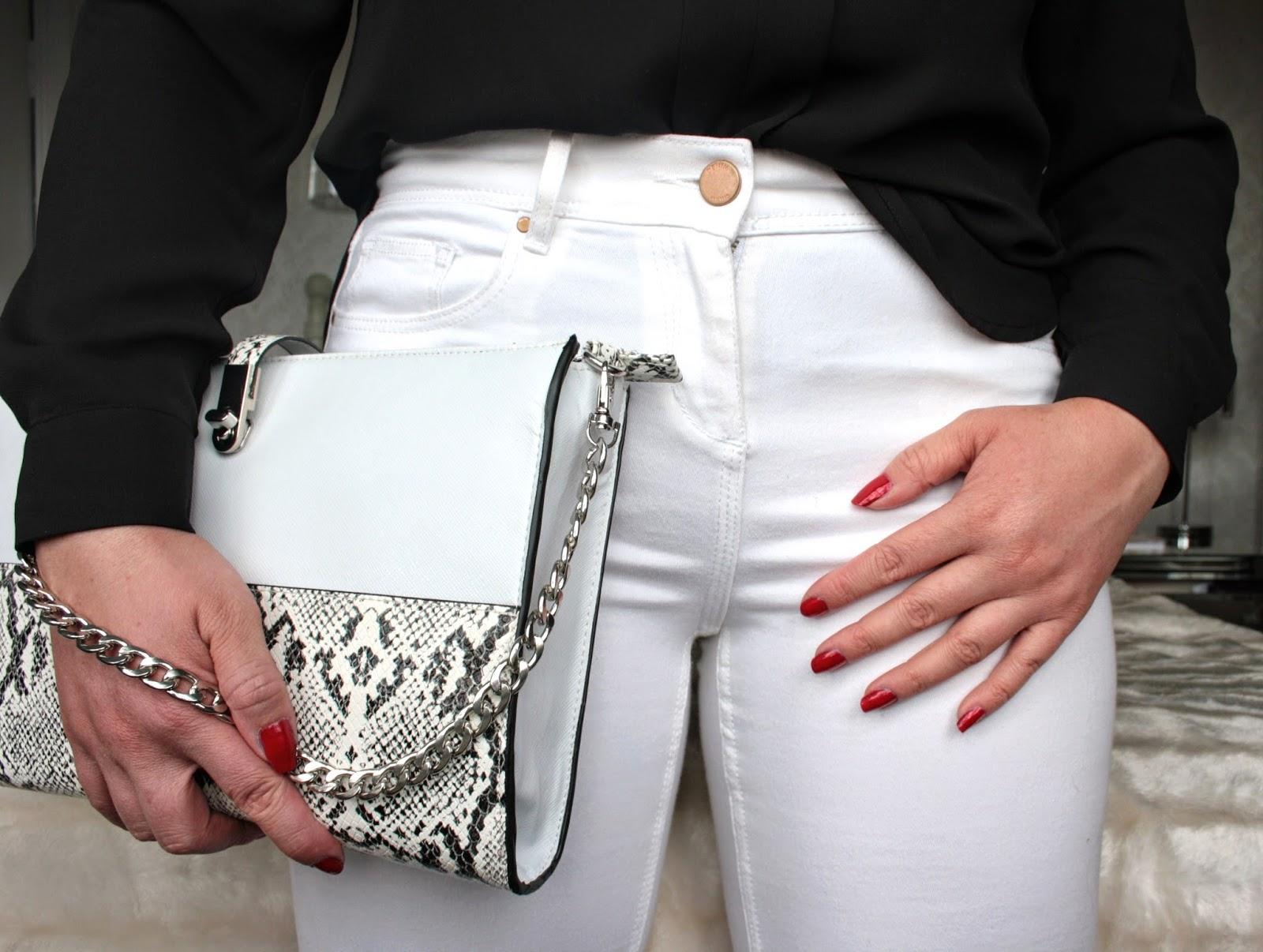 Monochrome Zara outfit