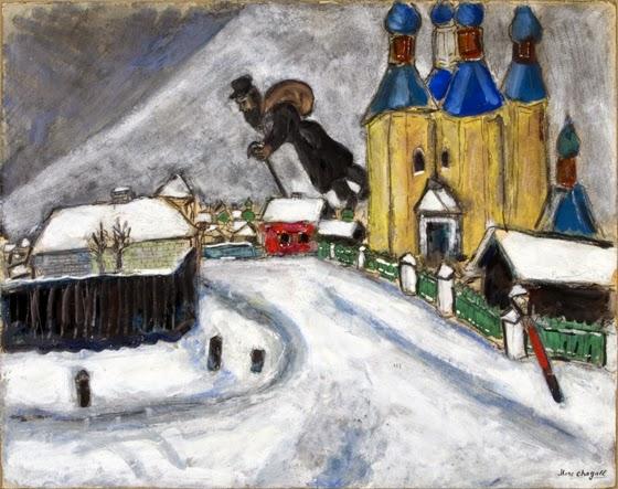 la historia narrada a trav s del arte la simbolog a est tica de marc chagall. Black Bedroom Furniture Sets. Home Design Ideas