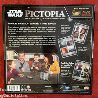Star Wars Pictopia, board game about Star Wars