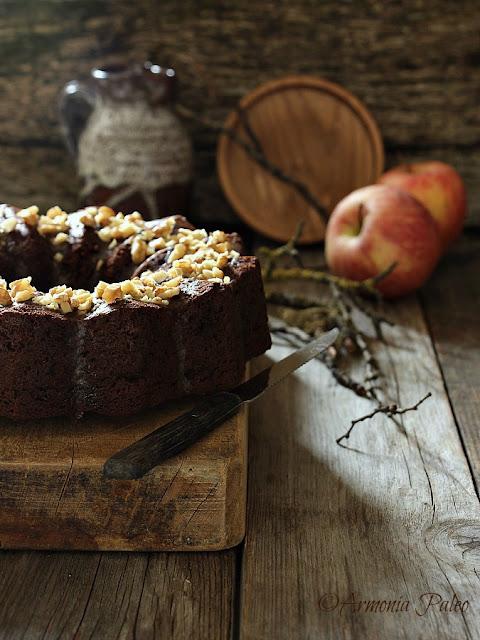 Apple Bundt Cake - Ciambellone alle Mele e Buon Compleanno Armonia Paleo