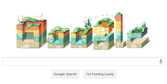 Google Doodle — Nicolas Steno's 374th Birthday