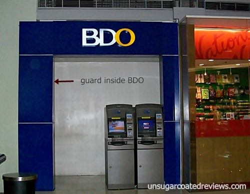 ATMs at BDO Megamall