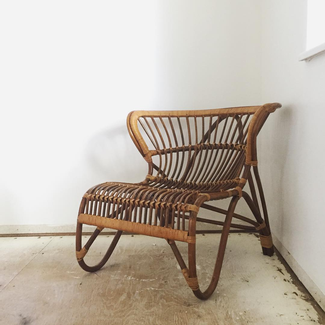 #thriftscorethursday Week 75 | Instagram user: annabode shows off this Bentwood Rattan Bamboo Chairs