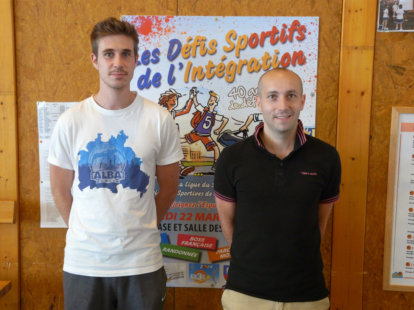 Educateurs ESCCC Basket, Jules LATOURTE & Romain RENARD