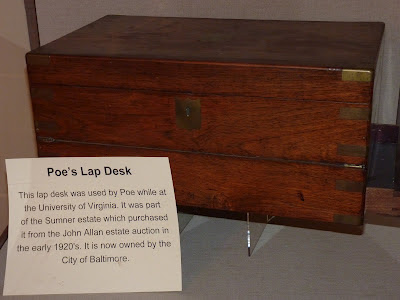 Poe's writing desk