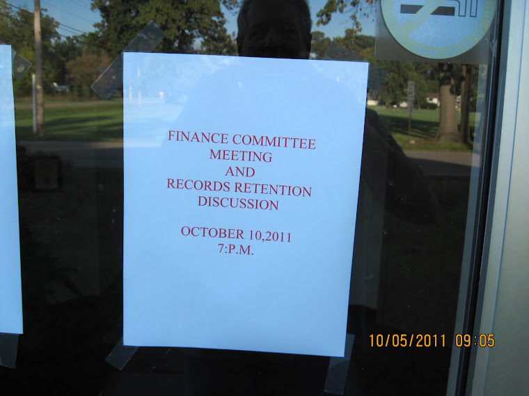 It looks like the records retention discussion didn't work.
