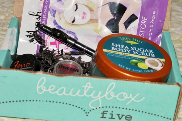 Beauty Box 5 Unboxing
