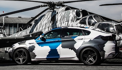 BMW X6 M 'Stealth'