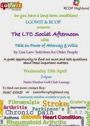 LTC Social afternoon 15th April
