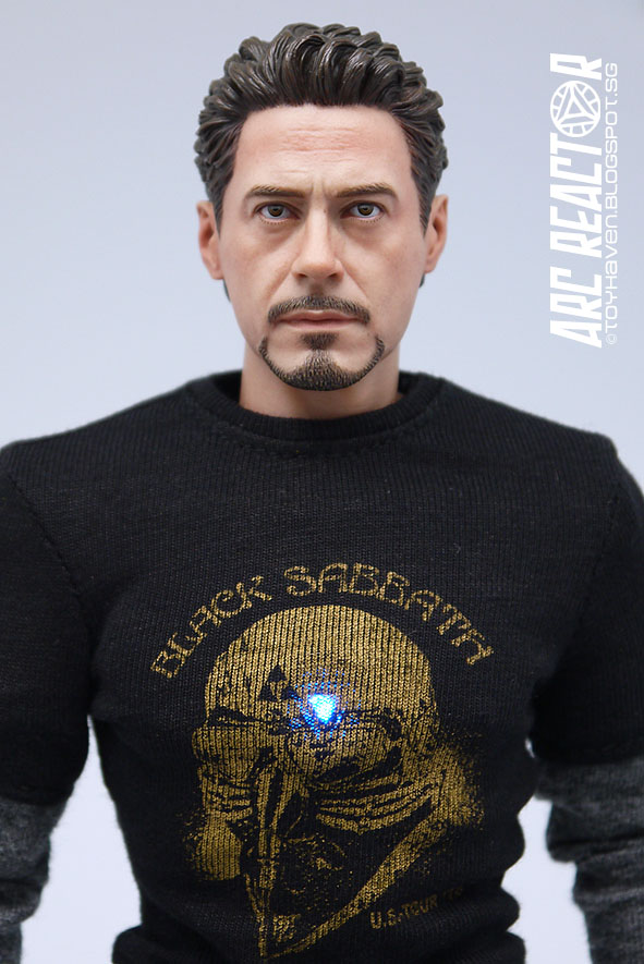 """【NEW】 1//6 Scale Tee Black Short Sleeves T-Shirt Hulk For 12/"""" Male Action Figure"""