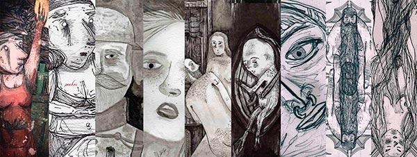 Ilustración, Popurrí de Esteban Isaza aka Marécages