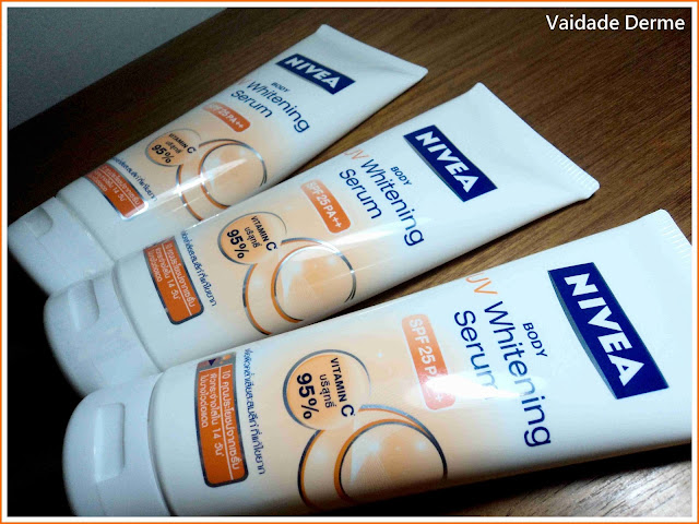 Body UV Whitening Serum SPF 25 PA++ da Nivea