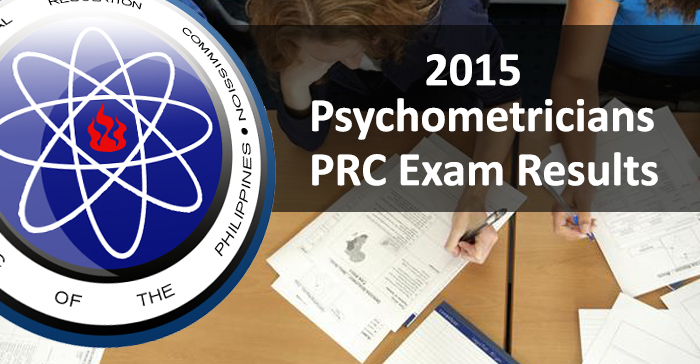 Top 10 Placers in July 2015 Psychometricians Board Examination Result