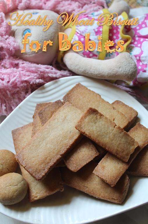 Teething cookies for babies