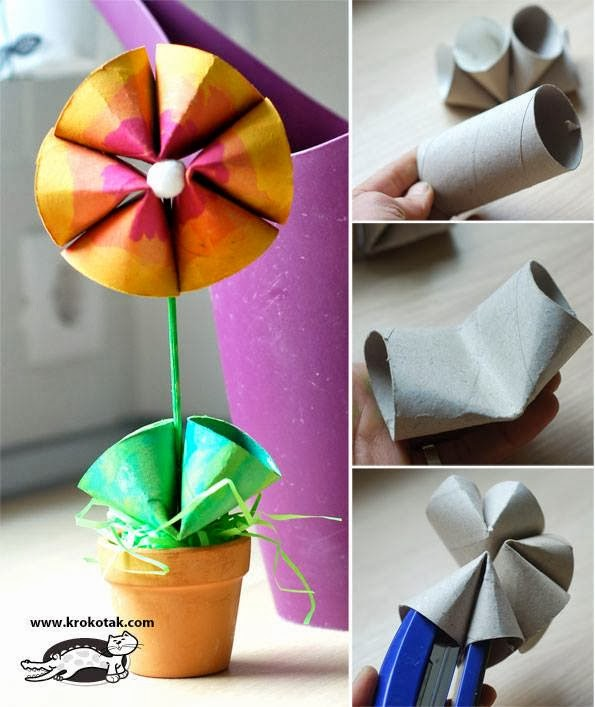 To make a flower  (Diy Tutorials )...