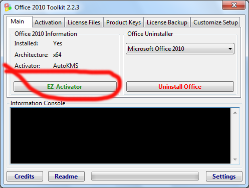 Office 2010 Toolkit v2.2.3 - Activate Your MS Office 2010 Forever