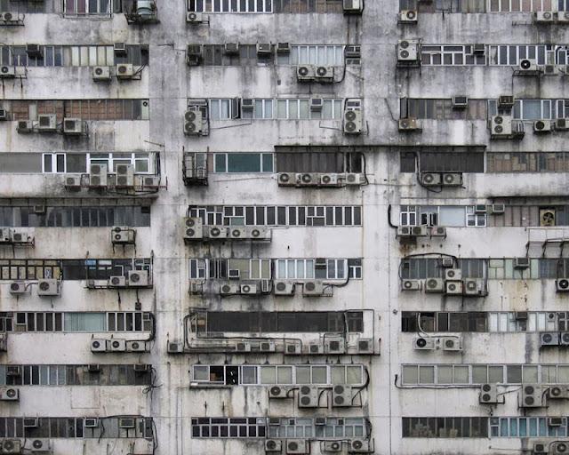 densidad edificios hong kong