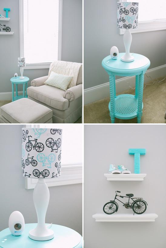decoracao quarto azul turquesa e amarelo:Modas E Decorações: Decoração de casa e Design de interiores